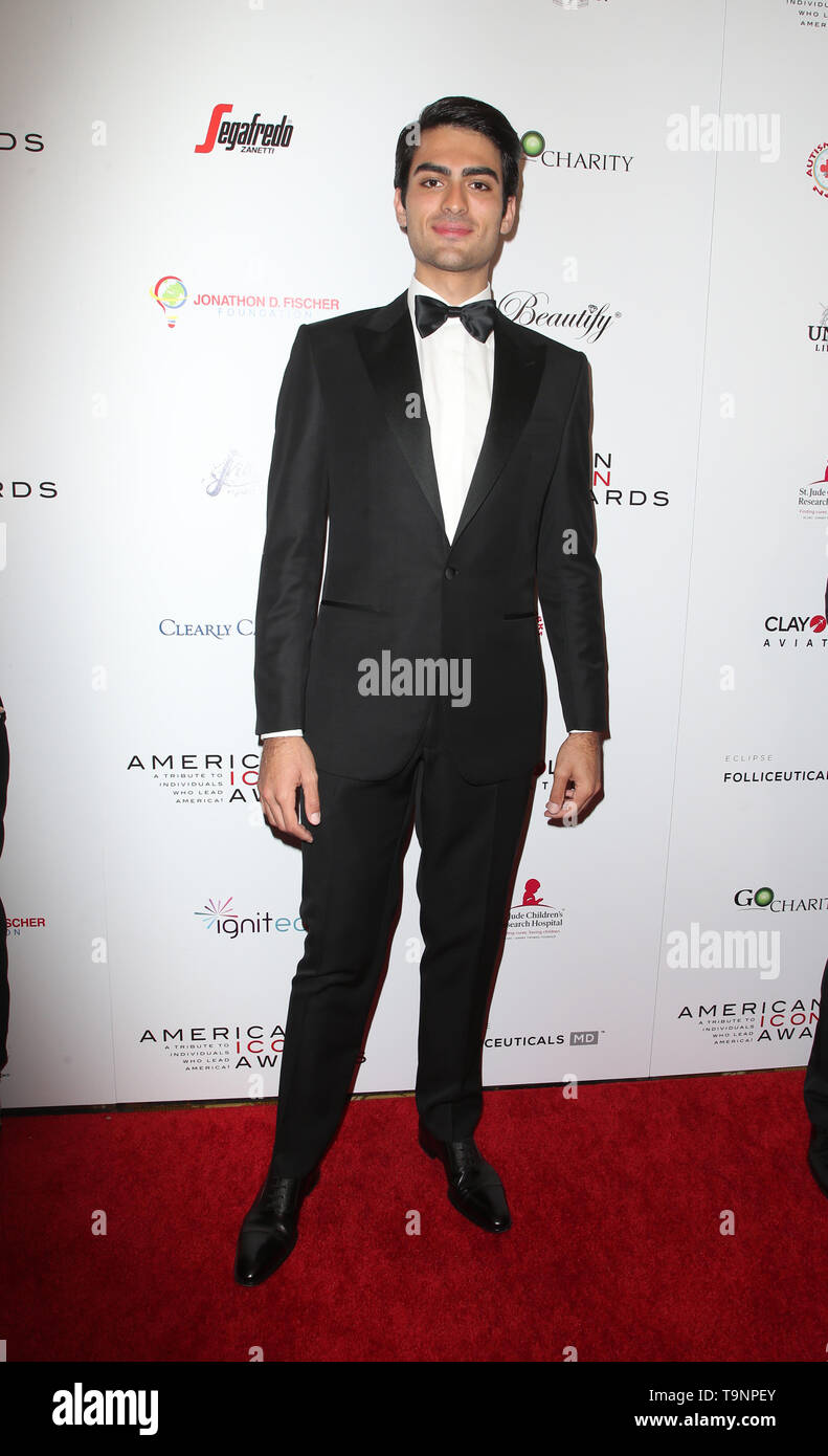 Beverly Hills, Ca. 19th May, 2019. Matteo Bocelli, at the 2019 American Icon Awards at the Beverly Wilshire Hotel in Beverly Hills, California on May 19, 2019. Credit: Faye Sadou/Media Punch/Alamy Live News - Stock Image