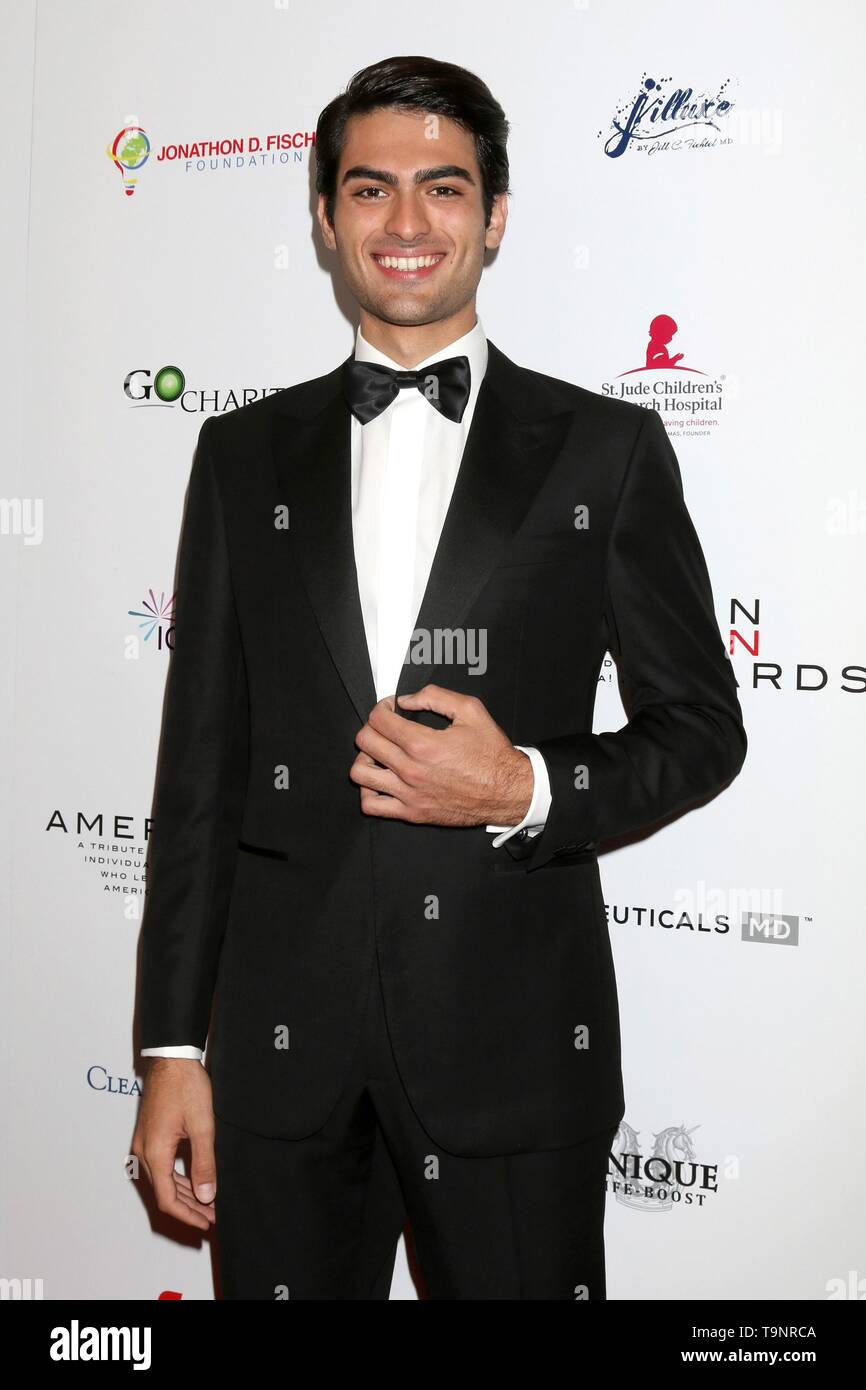 Beverly Hills, CA. 19th May, 2019. Matteo Bocelli at arrivals for The American Icon Awards Gala, The Beverly Wilshire Hotel, Beverly Hills, CA May 19, 2019. Credit: Priscilla Grant/Everett Collection/Alamy Live News - Stock Image