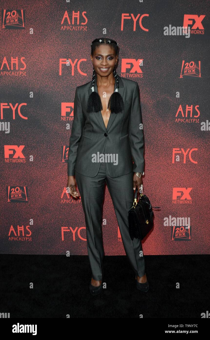 Los Angeles, CA, USA. 18th May, 2019. Adina Porter at arrivals for AMERICAN HORROR STORY: APOCALYPSE FYC Event, NeueHouse, Los Angeles, CA May 18, 2019. Credit: Priscilla Grant/Everett Collection/Alamy Live News - Stock Image