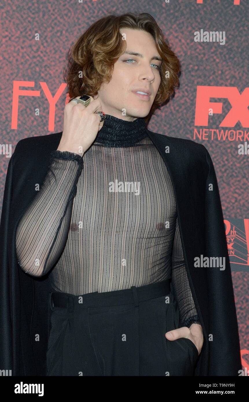 Los Angeles, CA, USA. 18th May, 2019. Cody Fern at arrivals for AMERICAN HORROR STORY: APOCALYPSE FYC Event, NeueHouse, Los Angeles, CA May 18, 2019. Credit: Priscilla Grant/Everett Collection/Alamy Live News - Stock Image
