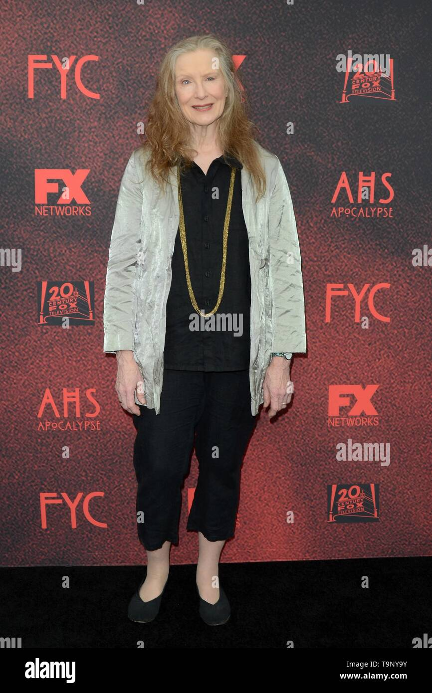 Los Angeles, CA, USA. 18th May, 2019. Frances Conroy at arrivals for AMERICAN HORROR STORY: APOCALYPSE FYC Event, NeueHouse, Los Angeles, CA May 18, 2019. Credit: Priscilla Grant/Everett Collection/Alamy Live News - Stock Image