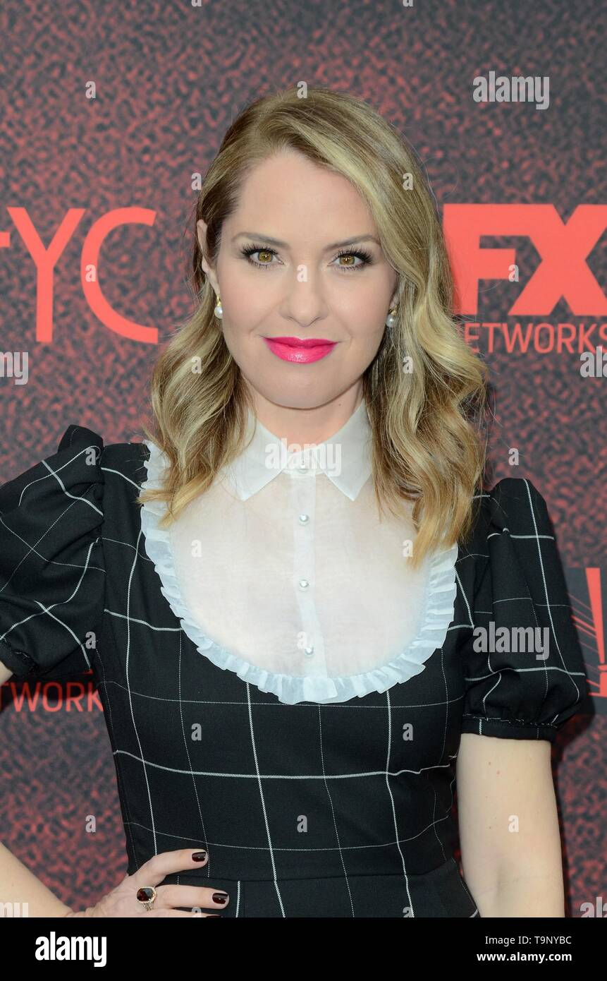 Los Angeles, CA, USA. 18th May, 2019. Leslie Grossman at arrivals for AMERICAN HORROR STORY: APOCALYPSE FYC Event, NeueHouse, Los Angeles, CA May 18, 2019. Credit: Priscilla Grant/Everett Collection/Alamy Live News - Stock Image