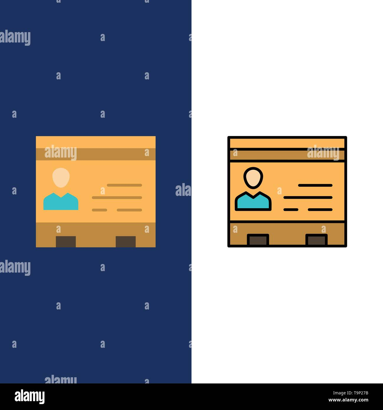 Id, Business, Cards, Contacts, Office, People, Phone Icons