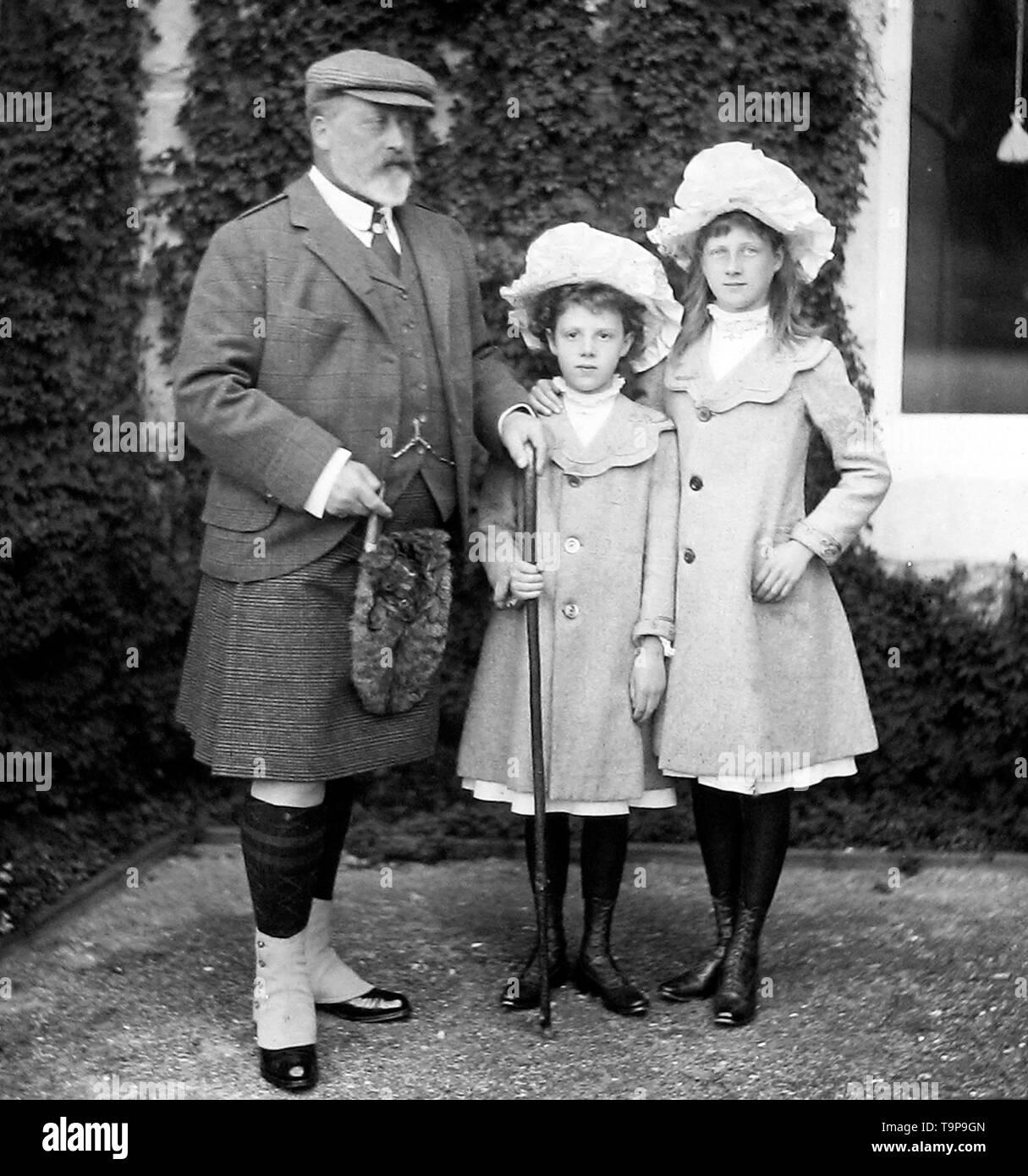 Edward VII - Stock Image