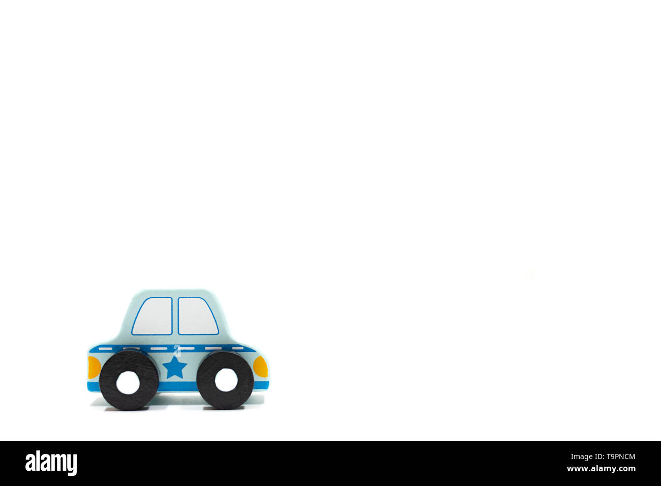 cars on white background. learn how to drive. get the car license. summer purpose learn rules of thumb. car model Stock Photo