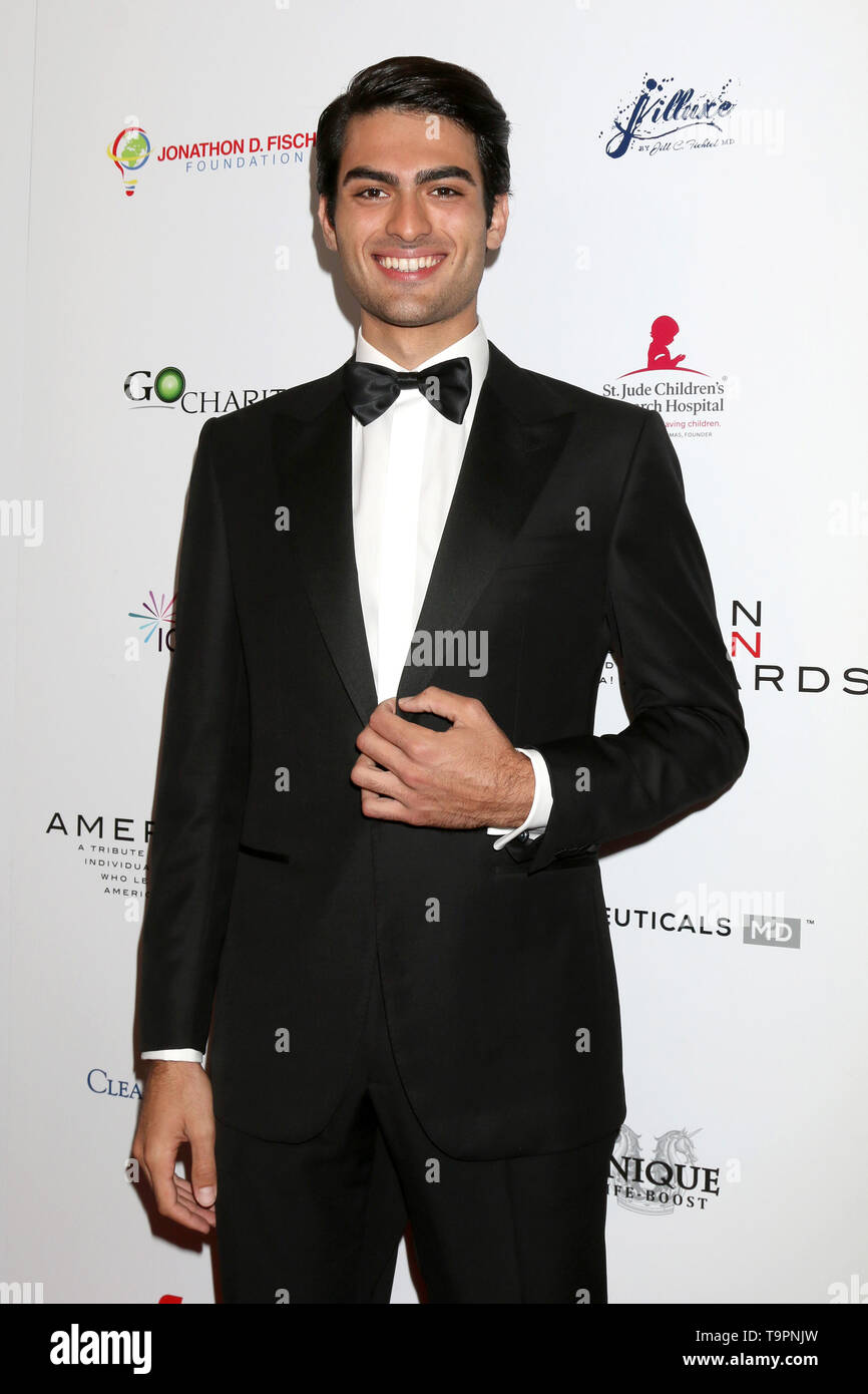May 19, 2019 - Beverly Hills, CA, USA - LOS ANGELES - MAY 19:  Matteo Bocelli at the American Icon Awards at the Beverly Wilshire Hotel on May 19, 2019 in Beverly Hills, CA (Credit Image: © Kay Blake/ZUMA Wire) - Stock Image
