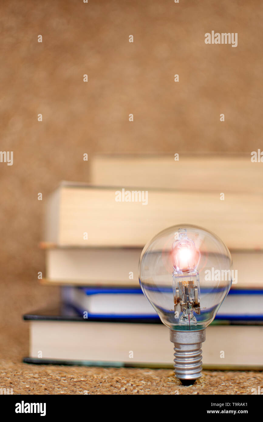 Idea storm background. Let the imagination fly. reading and imagination. cultural occurrence books and culture - Stock Image