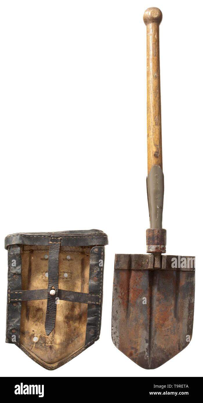 foldable USED British Army Shovel 3 Way Shovel limited Stock no case