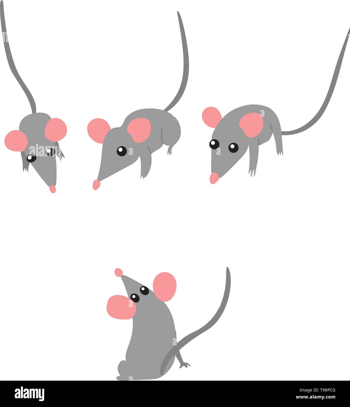 Mouse Clipart Mouse Clip Art At Clker Vector Clip Art - Animated Mouse Png  Transparent Png (#72366) - PinClipart
