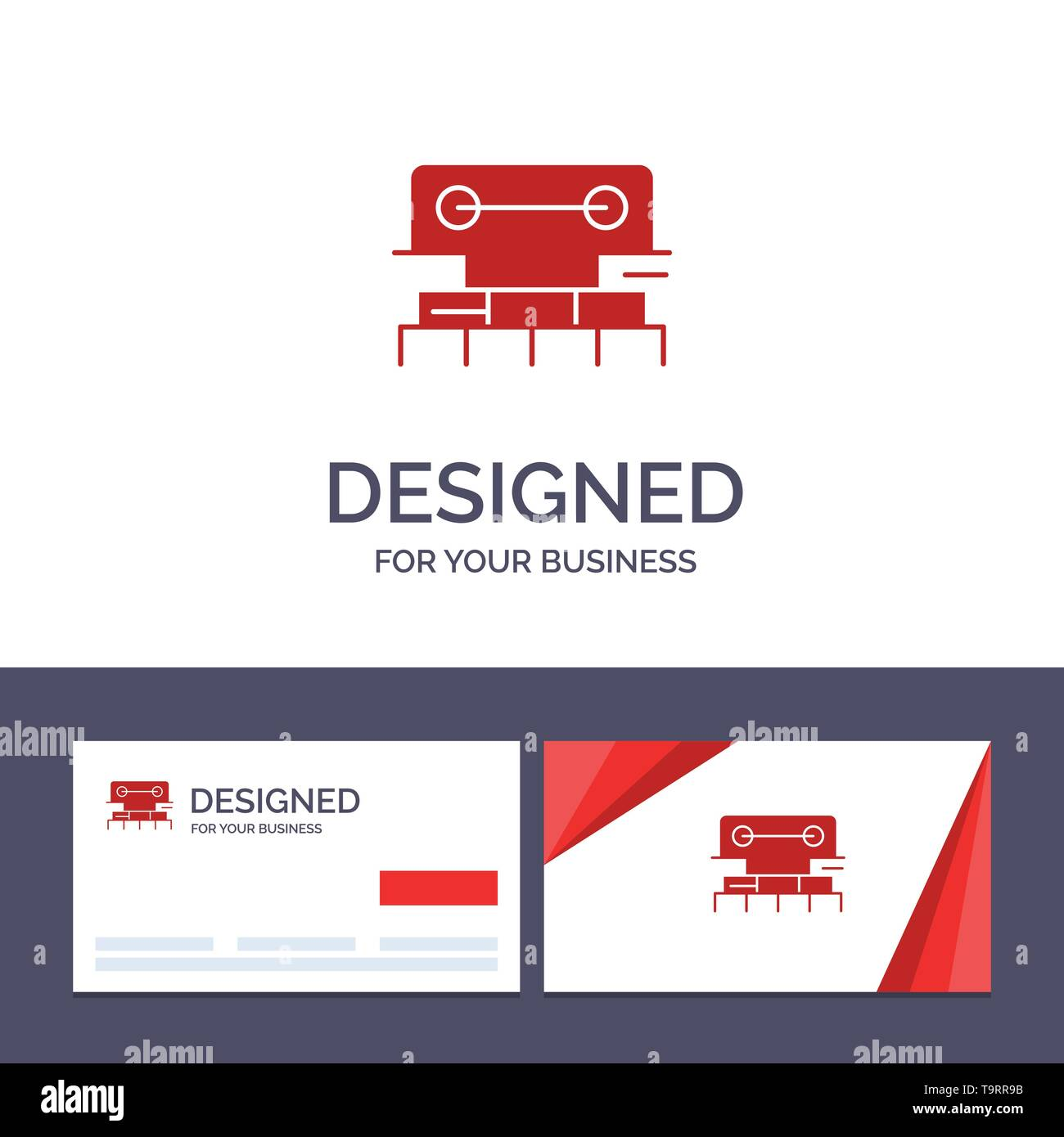 Creative Business Card and Logo template Level, Construction, Tool, Scale, Water Vector Illustration - Stock Image