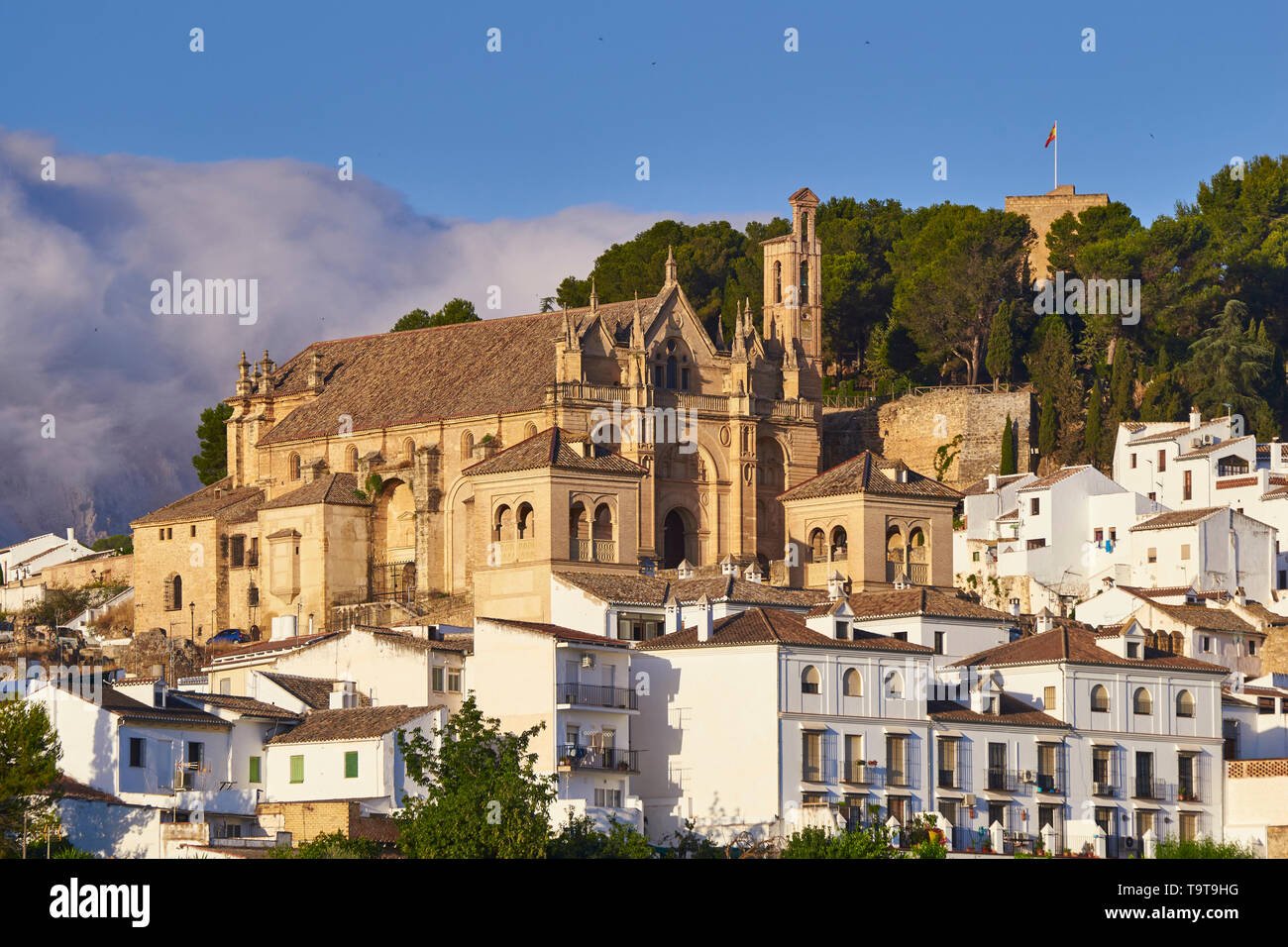 City of Antequera. Malaga Well of cultural interest by UNESCO - Stock Image