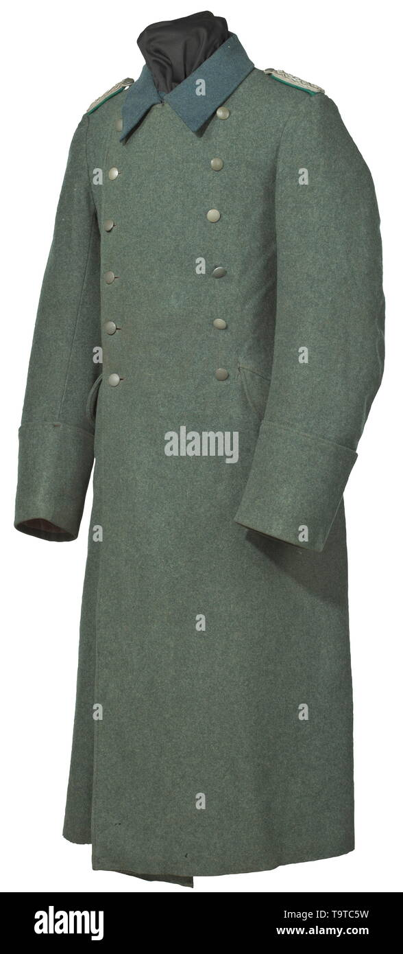A coat of a wartime administrator in the civil service for the duration of the war depot piece from 1940 historic, historical, army, armies, armed forces, military, militaria, object, objects, stills, clipping, clippings, cut out, cut-out, cut-outs, 20th century, Editorial-Use-Only - Stock Image