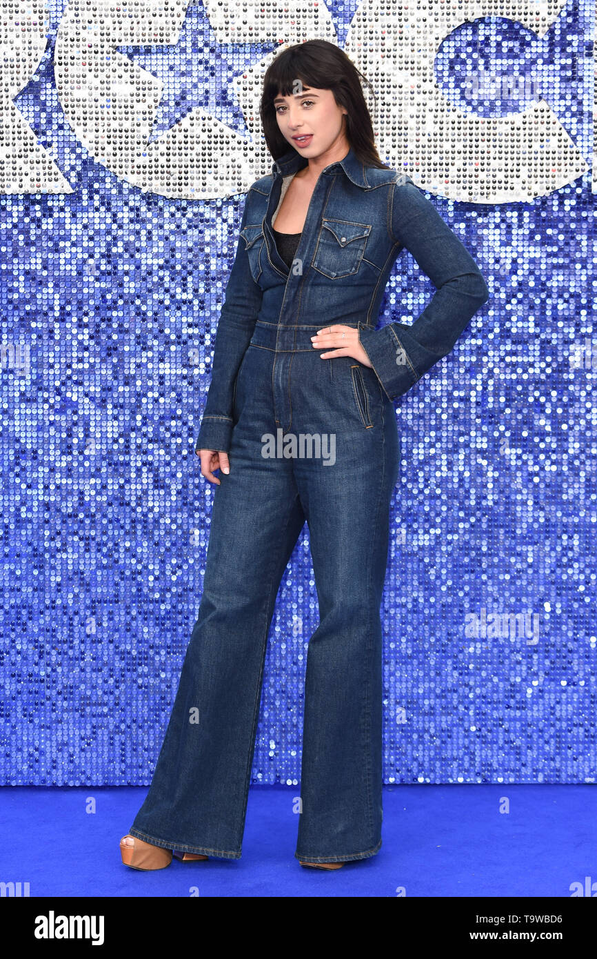 London, UK. 20th May, 2019. LONDON, UK. May 20, 2019: Foxes arriving for the 'Rocketman' UK premiere in Leicester Square, London. Picture: Steve Vas/Featureflash Credit: Paul Smith/Alamy Live News - Stock Image