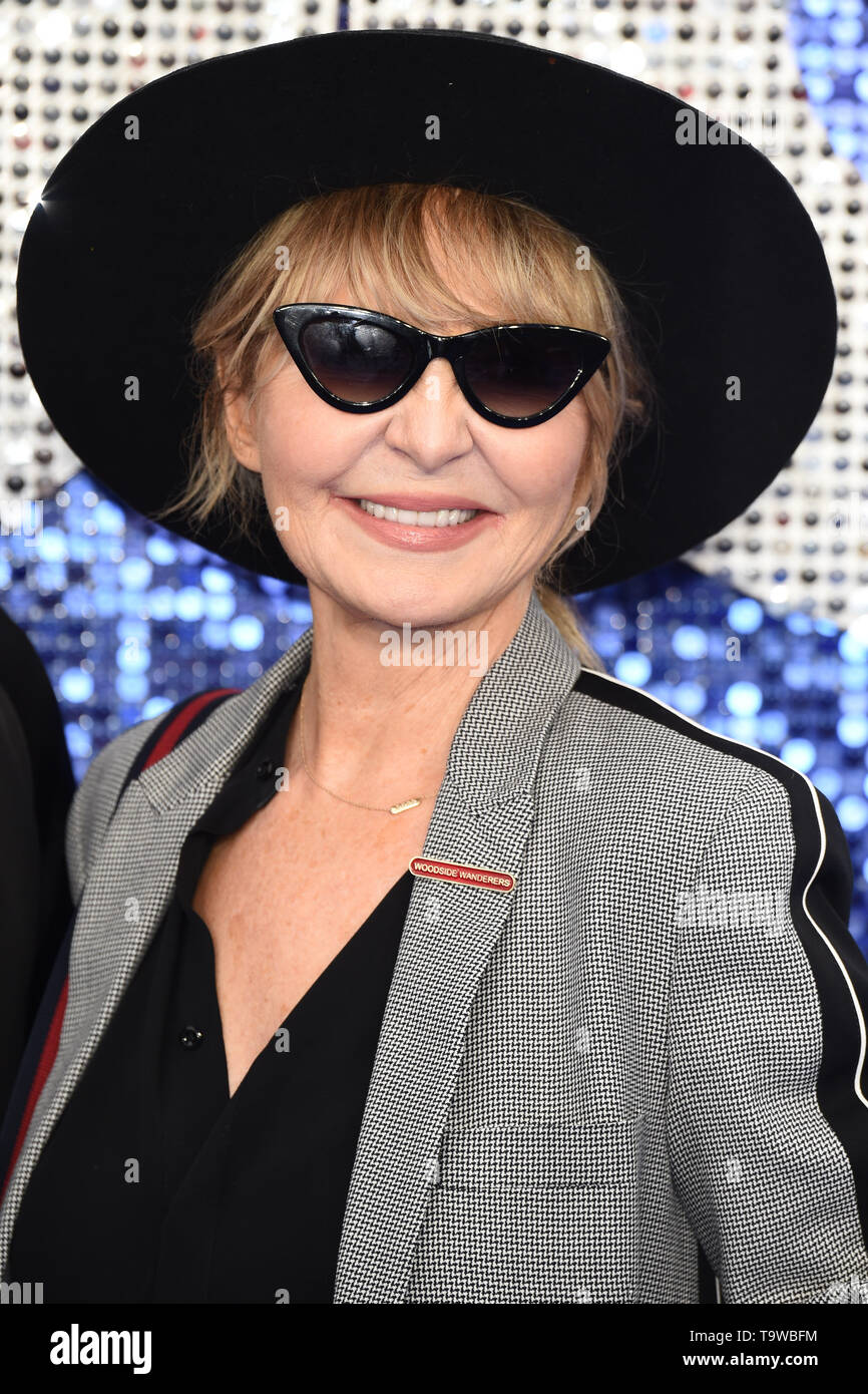 London, UK. 20th May, 2019. LONDON, UK. May 20, 2019: Lulu arriving for the 'Rocketman' UK premiere in Leicester Square, London. Picture: Steve Vas/Featureflash Credit: Paul Smith/Alamy Live News - Stock Image
