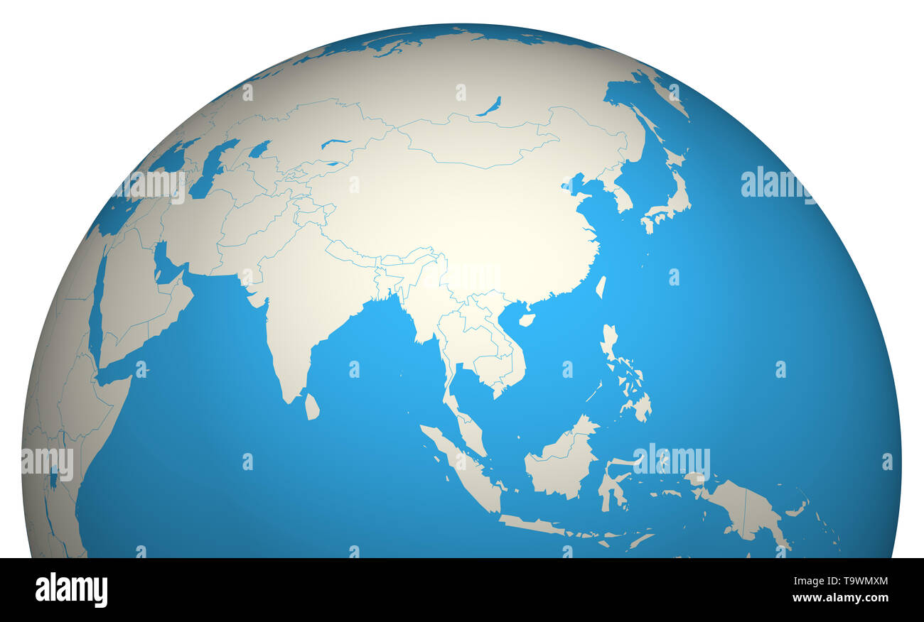 Globe 3D - Stock Image