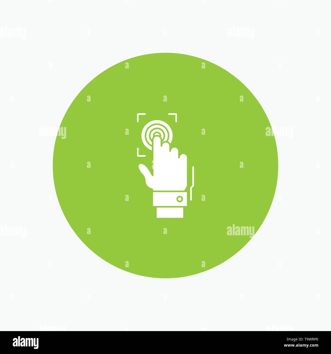 Fingerprint, Identity, Recognition, Scan, Scanner, Scanning - Stock Image
