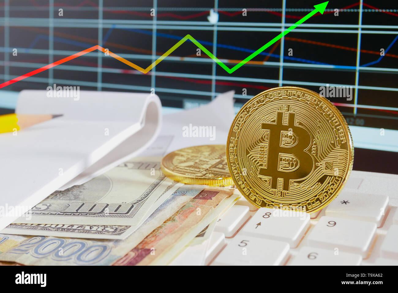Real Bitcoin Coin Stock Photos & Real Bitcoin Coin Stock Images - Alamy
