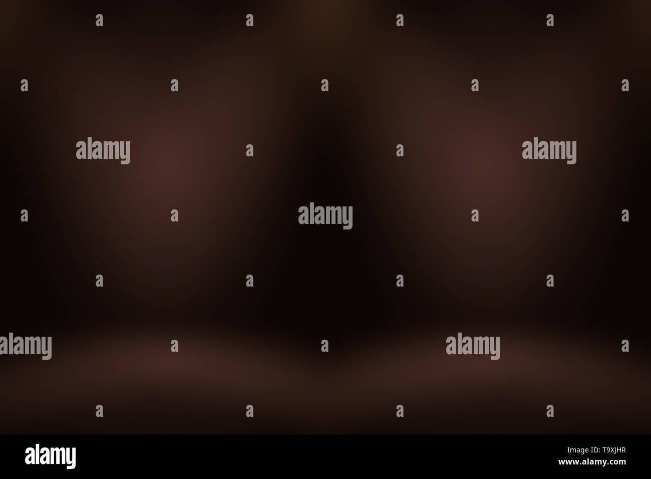 Abstract Smooth Brown wall background layout design,studio,room,web template,Business report with smooth circle gradient color Stock Photo