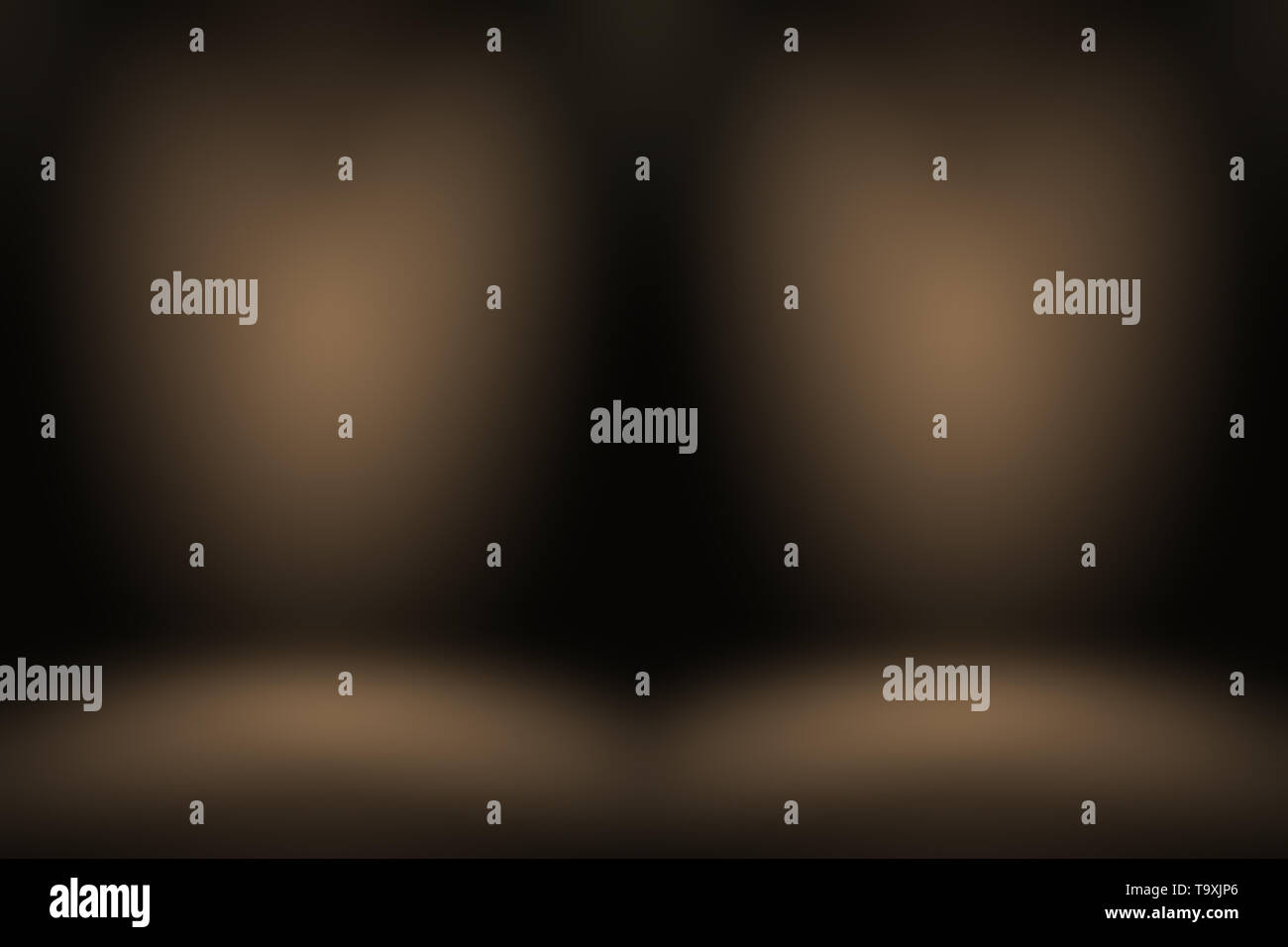 Abstract Smooth Brown wall background layout design,studio,room,web template,Business report with smooth circle gradient color. - Stock Image