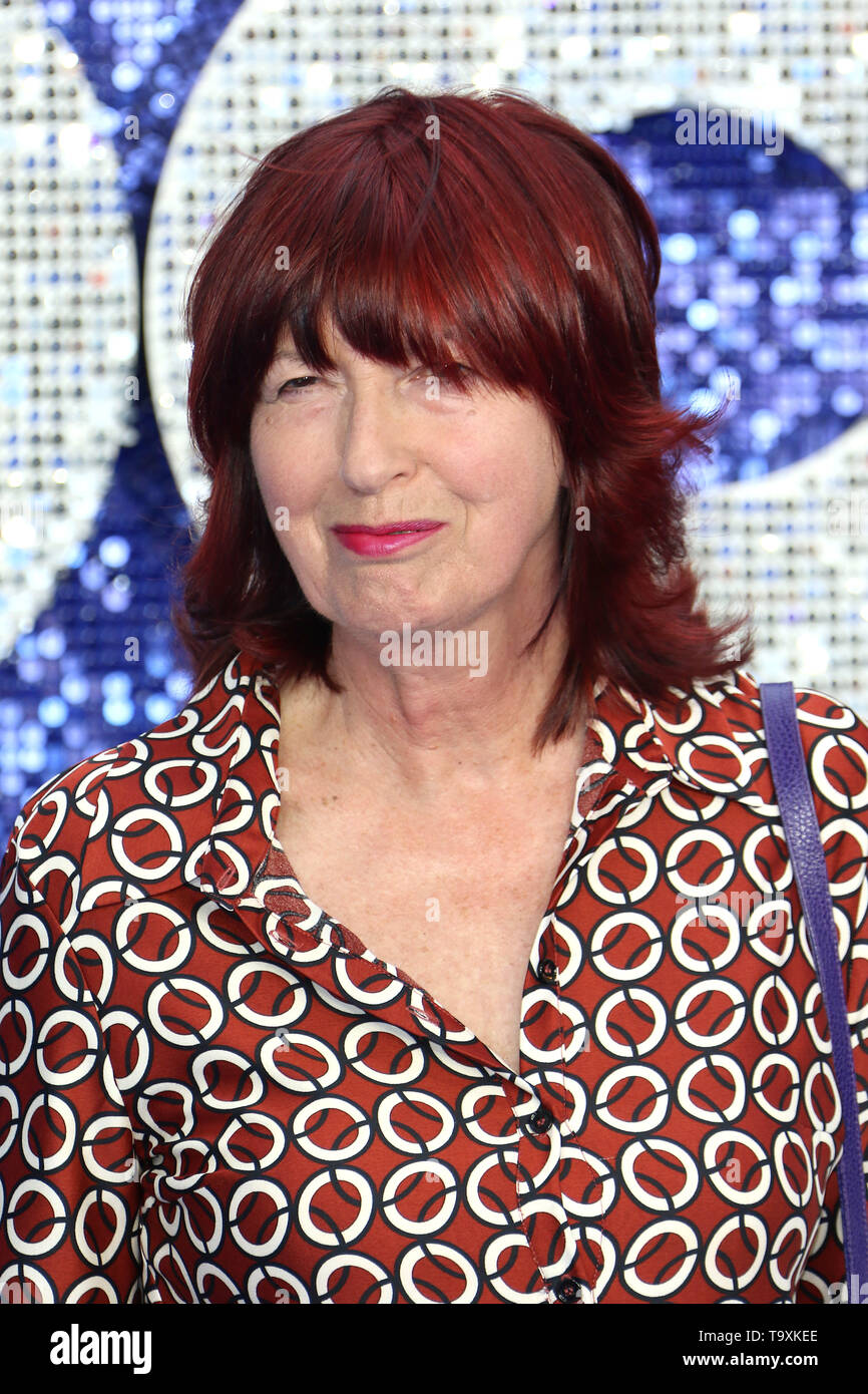 Janet Street-Porter, Rocketman - UK Premiere, Leicester Square, London, UK, 20 May 2019, Photo by Richard Goldschmidt - Stock Image