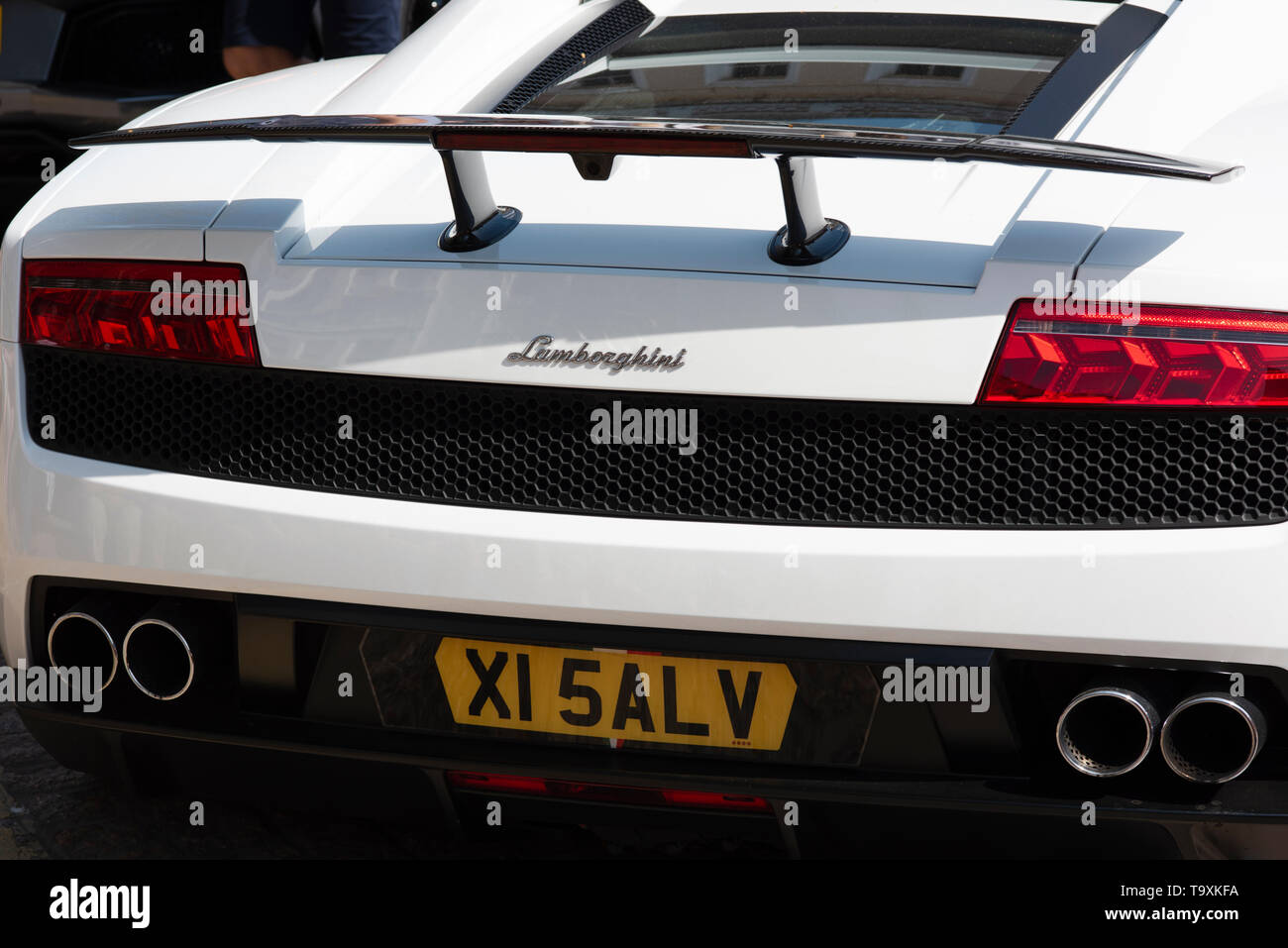 Rear Lamborghini Stock Photos Rear Lamborghini Stock Images Alamy