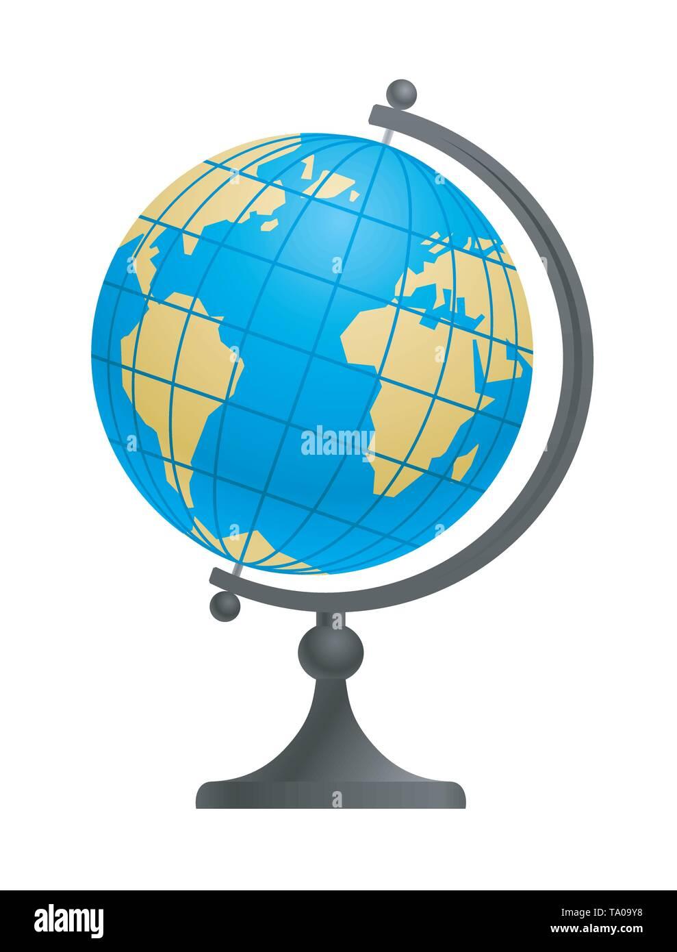 School Globe - Stock Image