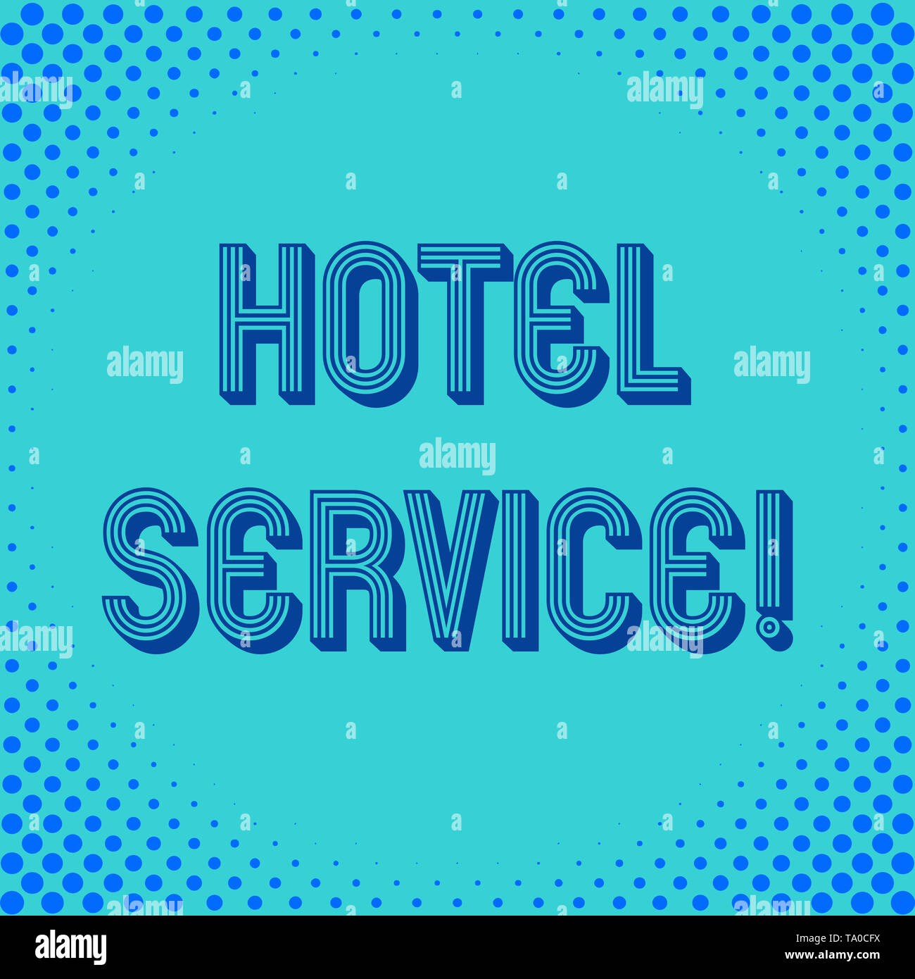 Handwriting text writing Hotel Service. Conceptual photo Providing guests warm accommodation and other services Square rectangle paper sheet loaded wi - Stock Image