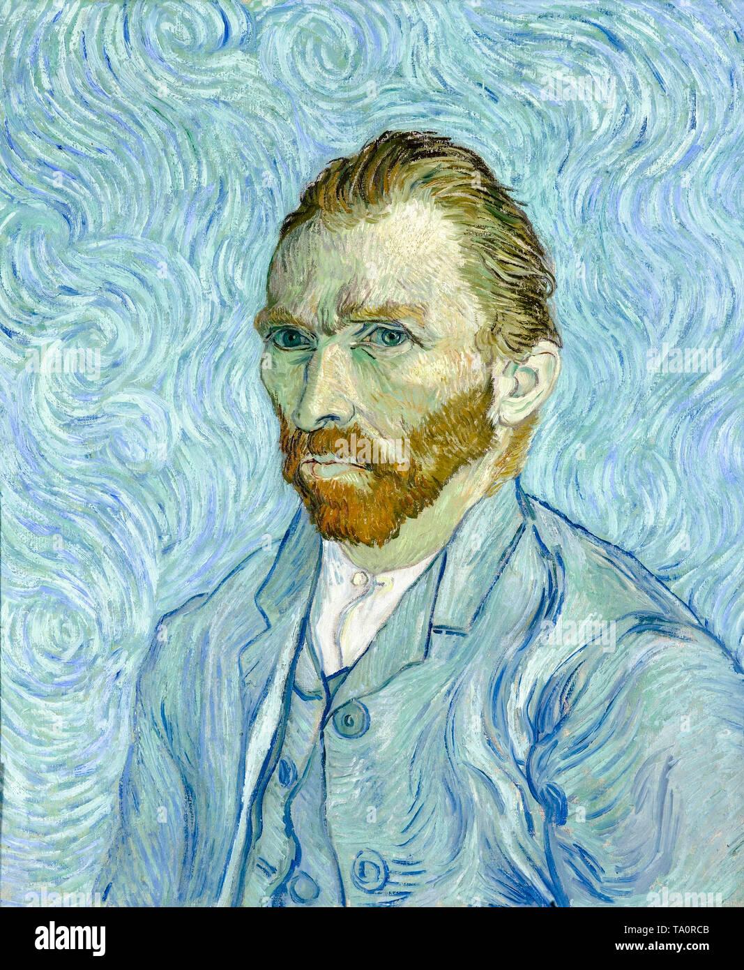 Vincent van Gogh, Self portrait, 1889 - Stock Image