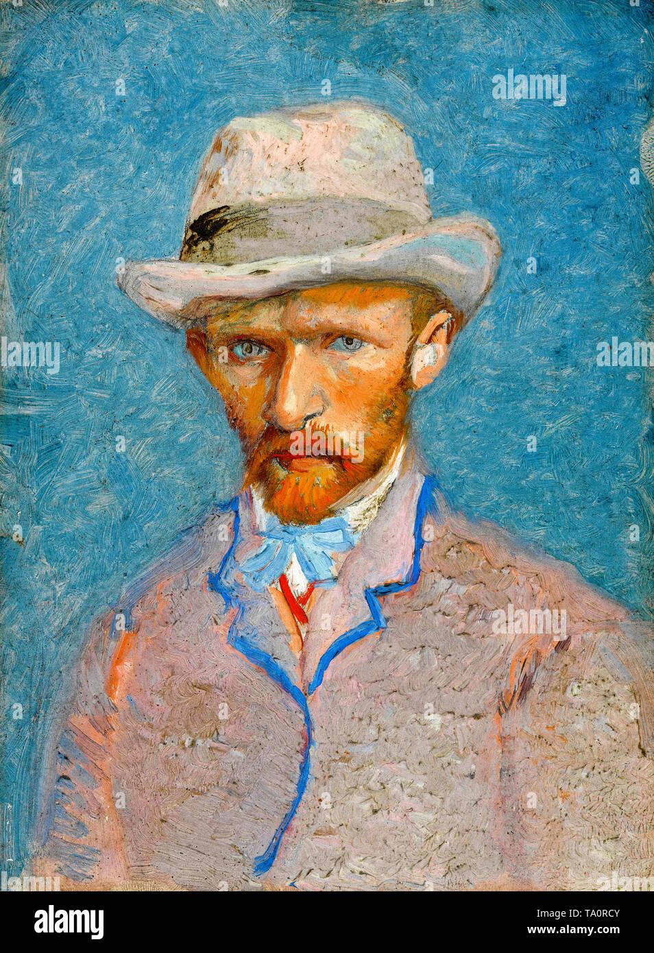 Vincent van Gogh, Self-Portrait, 1887 - Stock Image