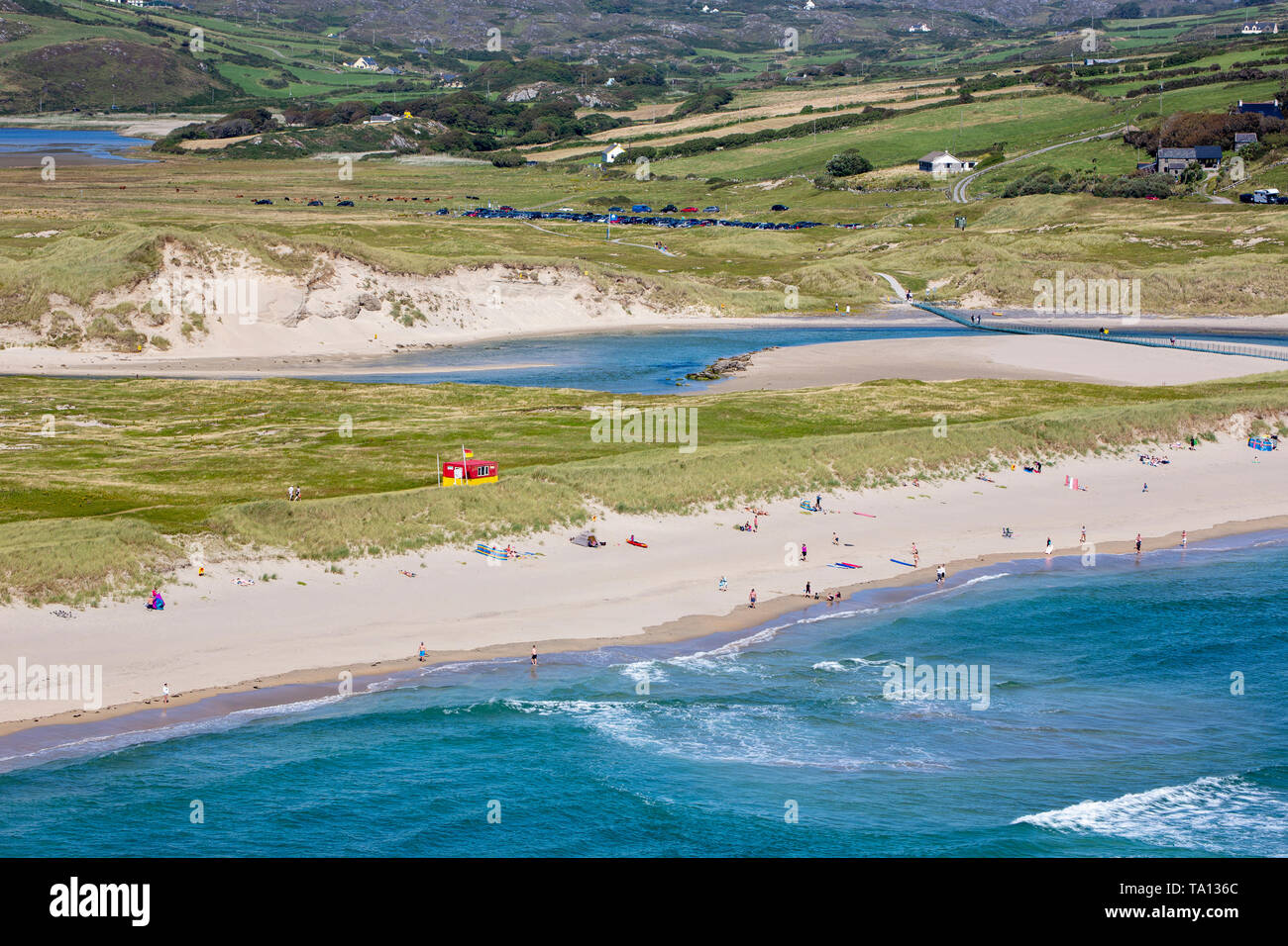 Barleycove beach, aka Barlycove beach on the Wild Atlantic Way, County Cork, Republic of Ireland.  Eire. - Stock Image