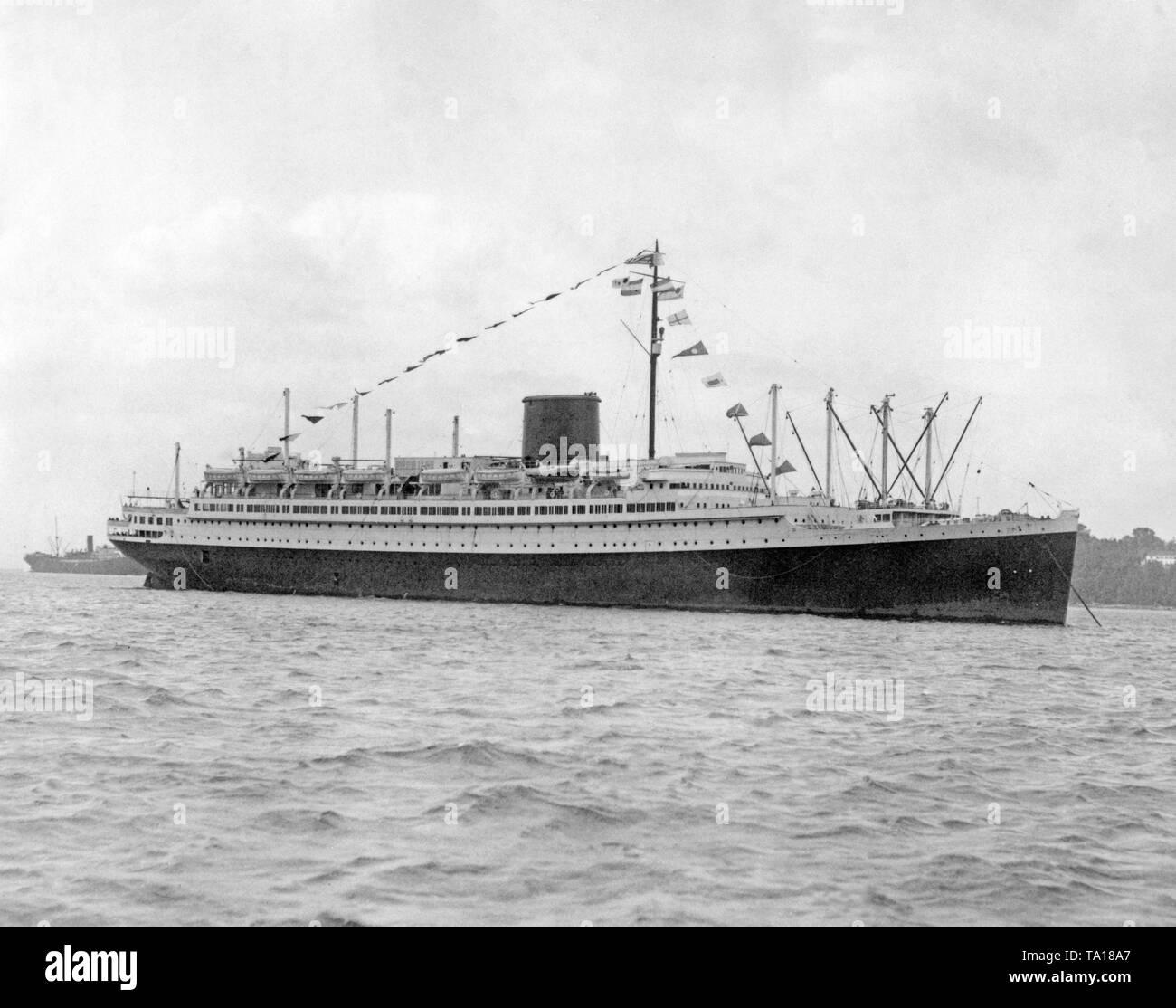 passenger ship vulcania 1930 - HD1300×1114