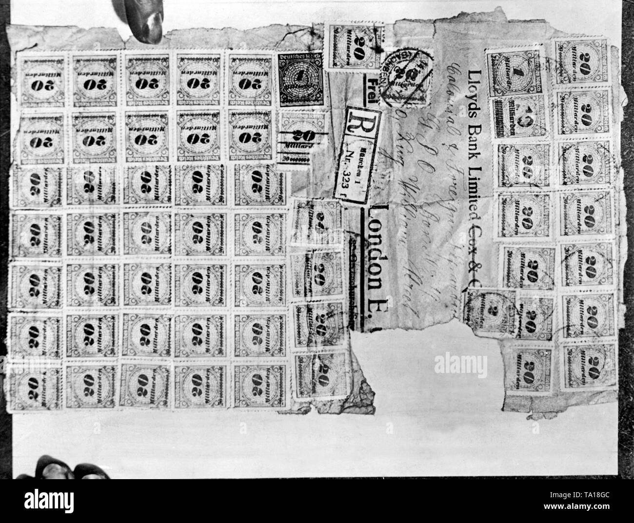 Germany Hyperinflation Stock Photos & Germany Hyperinflation