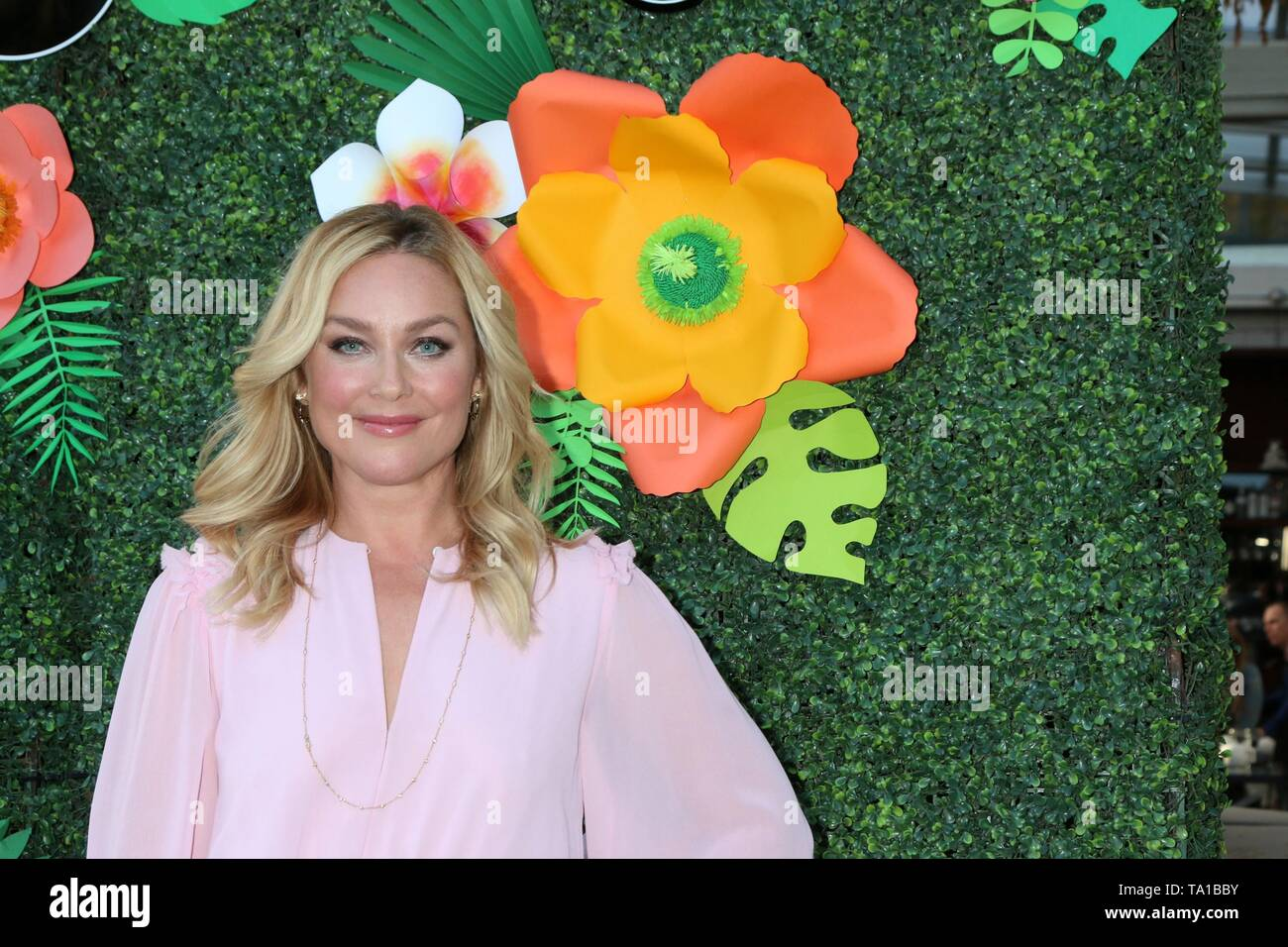 Elisabeth Rohm at arrivals for Lifetime's Summer Luau, W Los Angeles Wet Deck, Los Angeles, CA May 20, 2019. Photo By: Priscilla Grant/Everett Collection - Stock Image