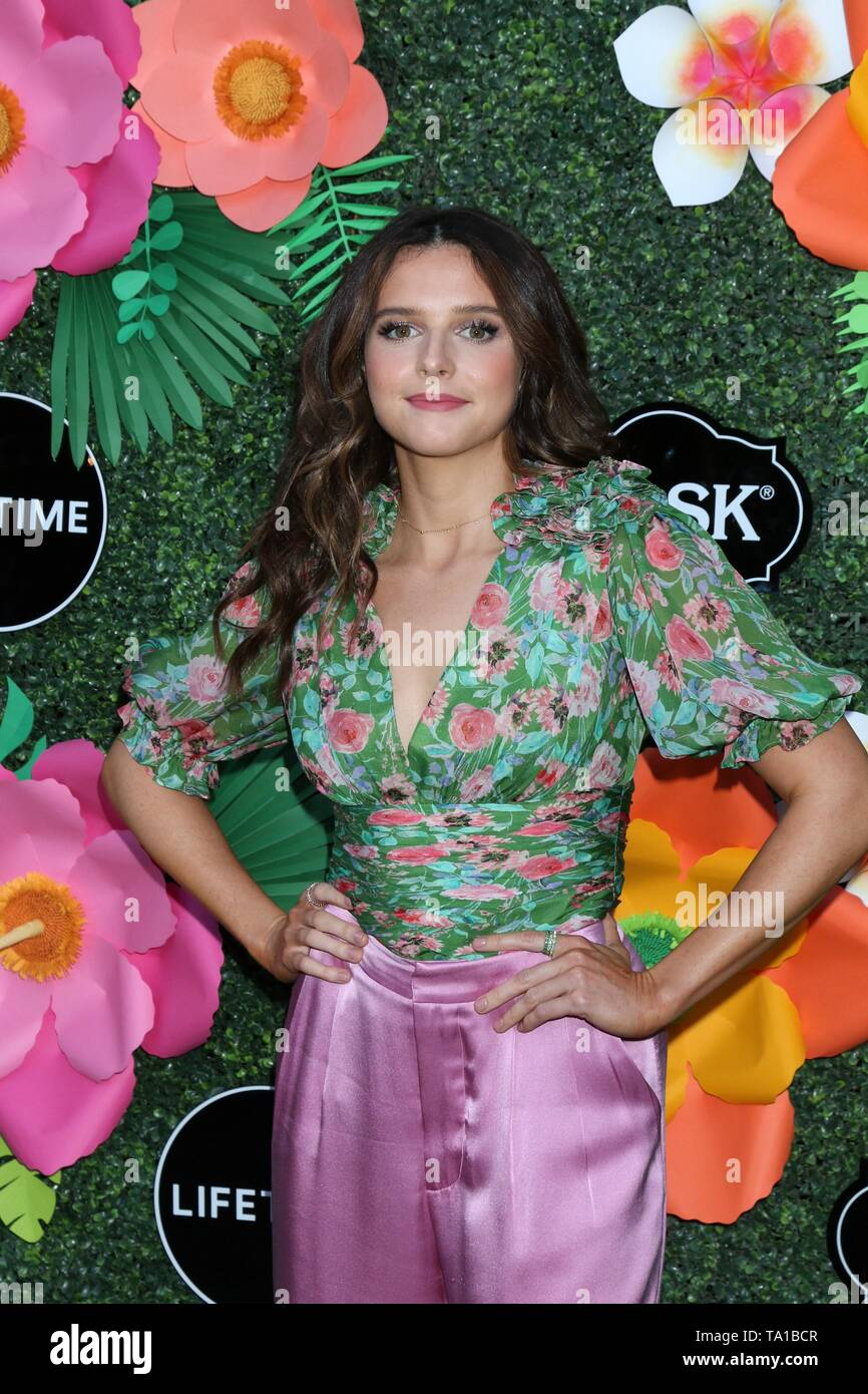 Erin Pineda at arrivals for Lifetime's Summer Luau, W Los Angeles Wet Deck, Los Angeles, CA May 20, 2019. Photo By: Priscilla Grant/Everett Collection - Stock Image