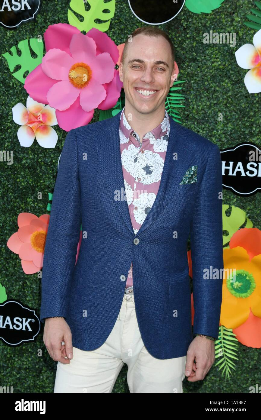 Jordan Whalen at arrivals for Lifetime's Summer Luau, W Los Angeles Wet Deck, Los Angeles, CA May 20, 2019. Photo By: Priscilla Grant/Everett Collection - Stock Image