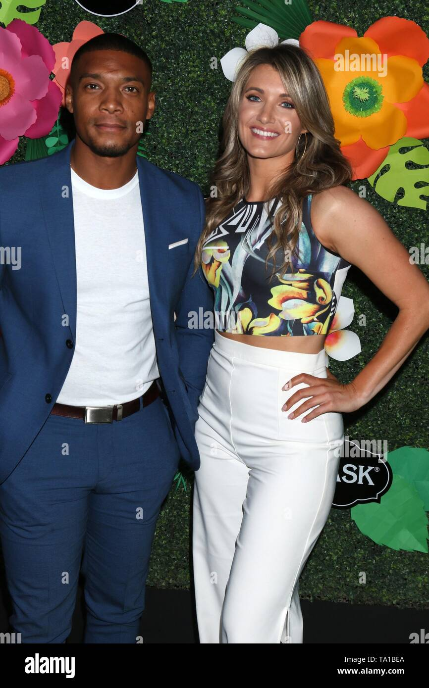 Juan Antonio, Guest at arrivals for Lifetime's Summer Luau, W Los Angeles Wet Deck, Los Angeles, CA May 20, 2019. Photo By: Priscilla Grant/Everett Collection - Stock Image