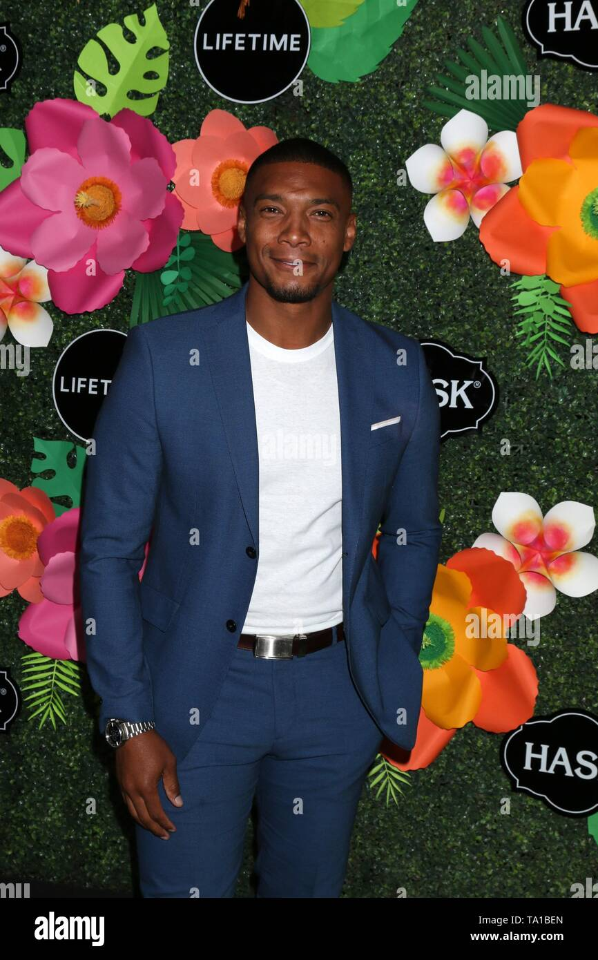 Juan Antonio at arrivals for Lifetime's Summer Luau, W Los Angeles Wet Deck, Los Angeles, CA May 20, 2019. Photo By: Priscilla Grant/Everett Collection - Stock Image