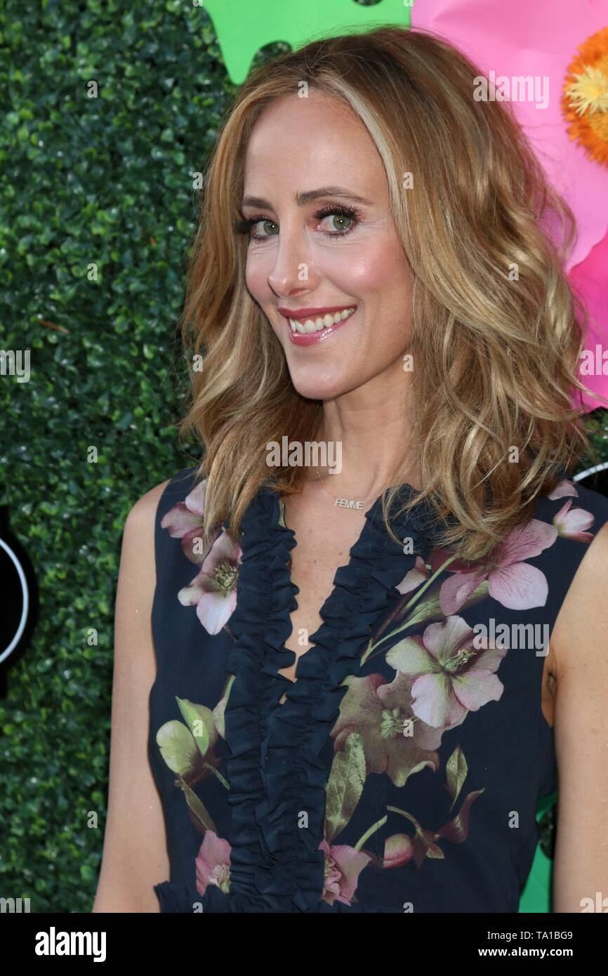 Los Angeles, CA, USA. 20th May, 2019. Kim Raver at arrivals for Lifetime's Summer Luau, W Los Angeles Wet Deck, Los Angeles, CA May 20, 2019. Credit: Priscilla Grant/Everett Collection/Alamy Live News - Stock Image