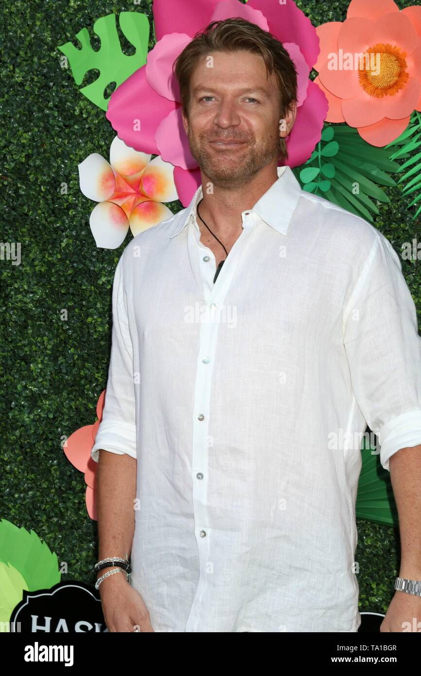 Los Angeles, CA, USA. 20th May, 2019. Matt Passmore at arrivals for Lifetime's Summer Luau, W Los Angeles Wet Deck, Los Angeles, CA May 20, 2019. Credit: Priscilla Grant/Everett Collection/Alamy Live News - Stock Image