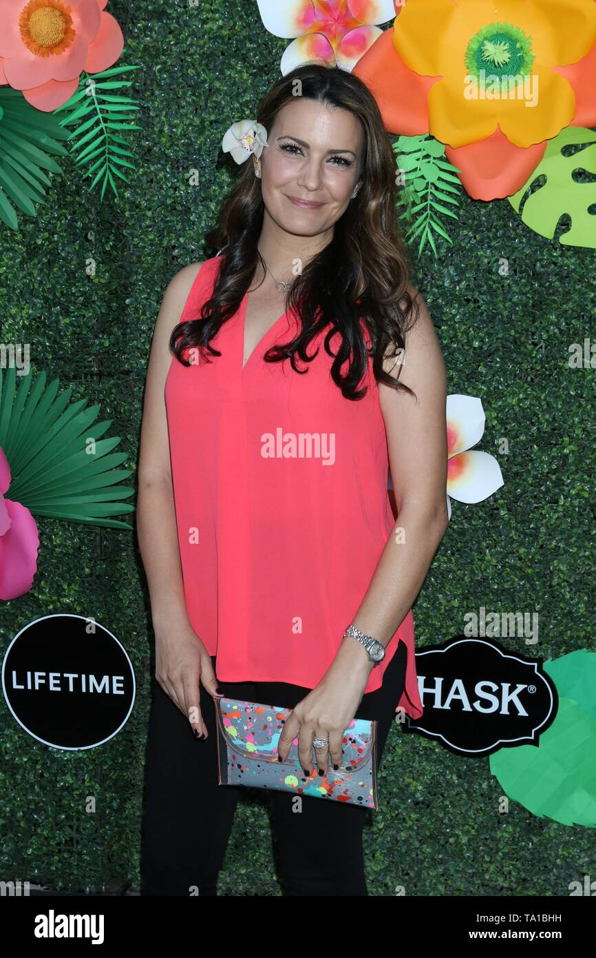 Los Angeles, CA, USA. 20th May, 2019. Natalia Cigliuti at arrivals for Lifetime's Summer Luau, W Los Angeles Wet Deck, Los Angeles, CA May 20, 2019. Credit: Priscilla Grant/Everett Collection/Alamy Live News - Stock Image