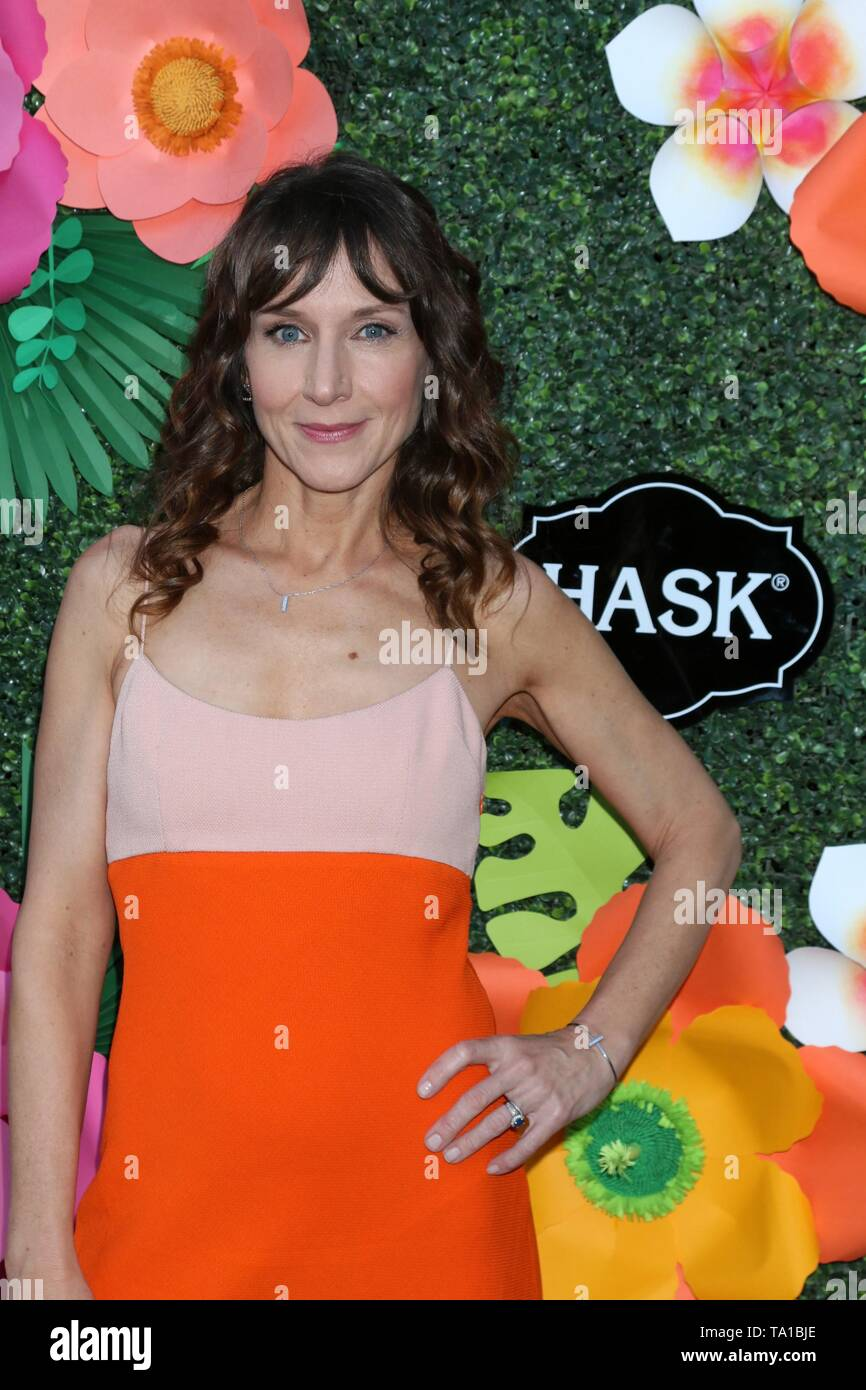 Los Angeles, CA, USA. 20th May, 2019. Seana Kofoed at arrivals for Lifetime's Summer Luau, W Los Angeles Wet Deck, Los Angeles, CA May 20, 2019. Credit: Priscilla Grant/Everett Collection/Alamy Live News - Stock Image