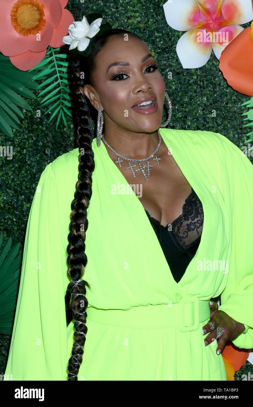 Los Angeles, CA, USA. 20th May, 2019. Vivica A Fox at arrivals for Lifetime's Summer Luau, W Los Angeles Wet Deck, Los Angeles, CA May 20, 2019. Credit: Priscilla Grant/Everett Collection/Alamy Live News - Stock Image