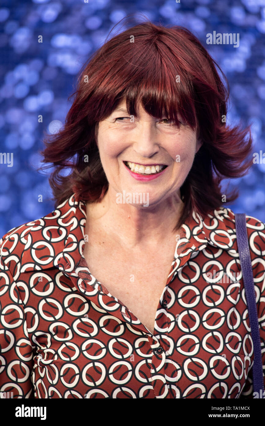 Janet Street-Porter attends the 'Rocketman' UK premiere at Odeon Leicester Square. - Stock Image