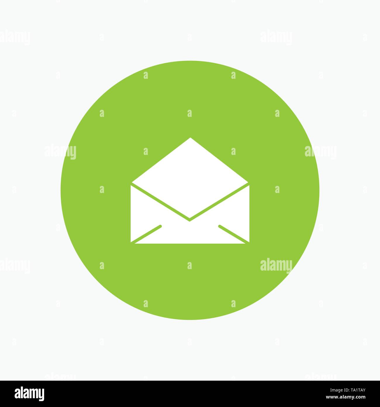 Email, Mail, Message, Open - Stock Image