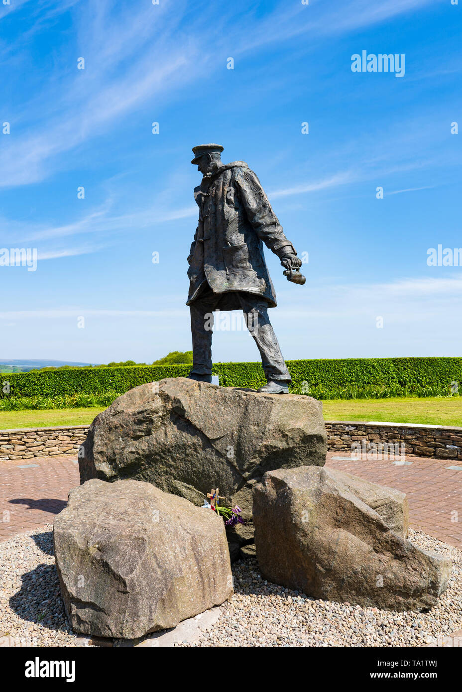 The David Stirling Memorial Near Dunblane, in  Stirlingshire, Scotland, UK. Col David Stirling was founder of the Special Air Service (SAS) in the Bri - Stock Image