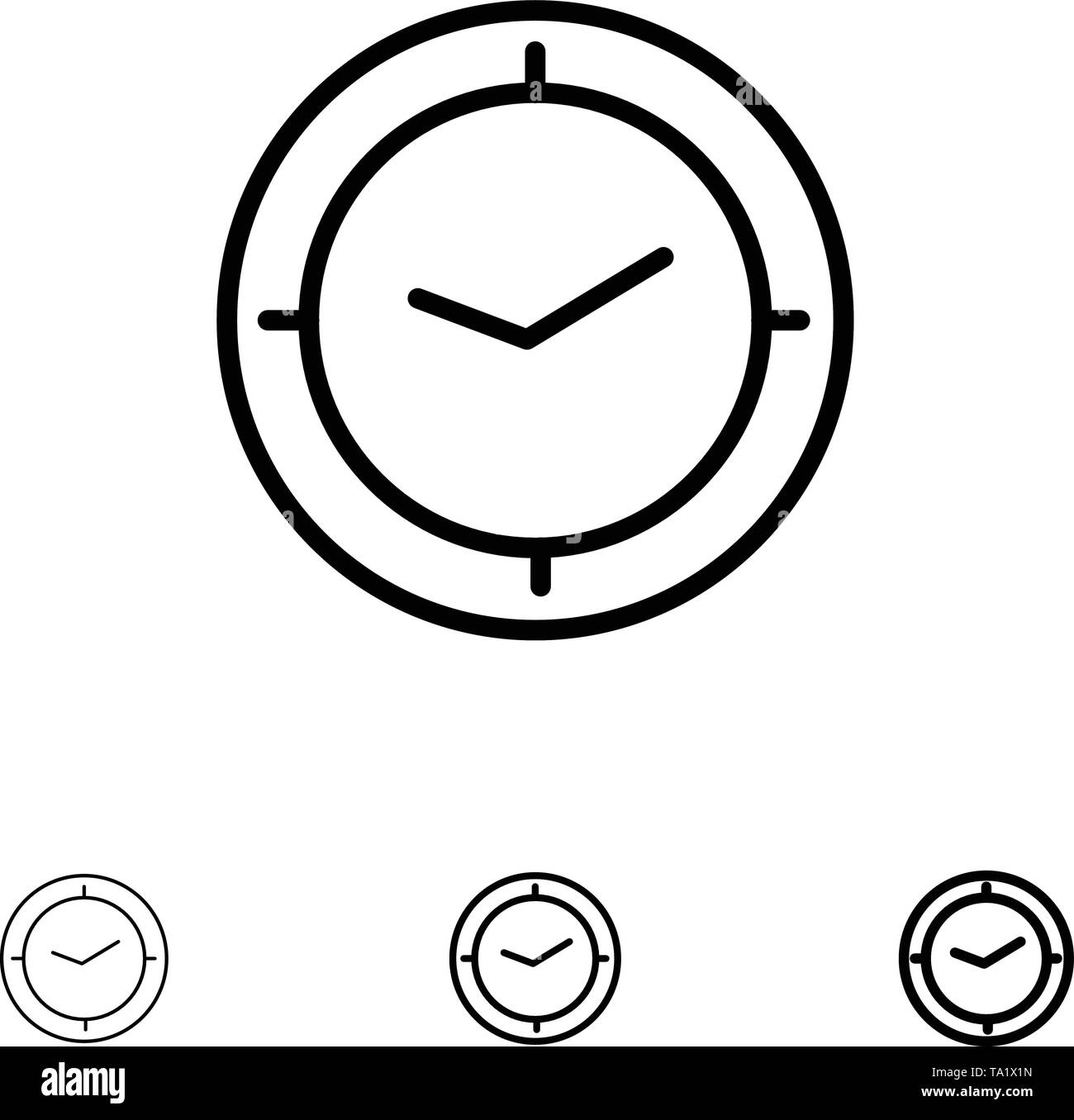 Hand Stop Clock Black and White Stock Photos & Images - Alamy