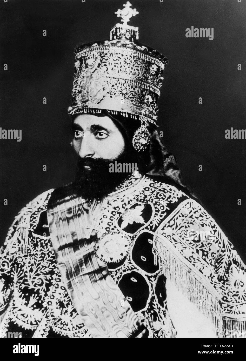 Emperor Haile Selassie Portrait High Resolution Stock Photography And Images Alamy