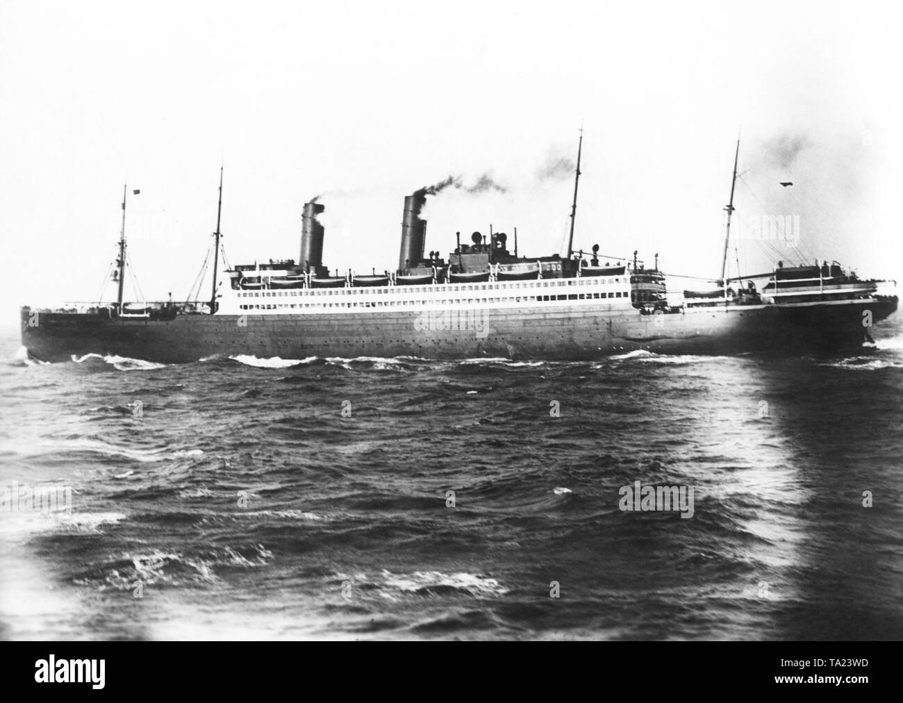 passenger ship vulcania 1930 - HD1300×1012