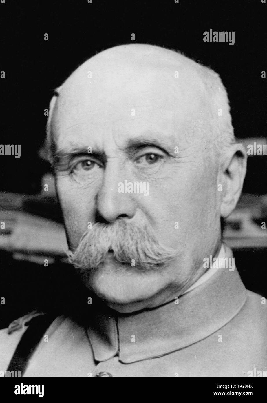 Henri Philippe Petain (1856-1951), French President and Marshal. Undated photo, probably in the 1920s. - Stock Image