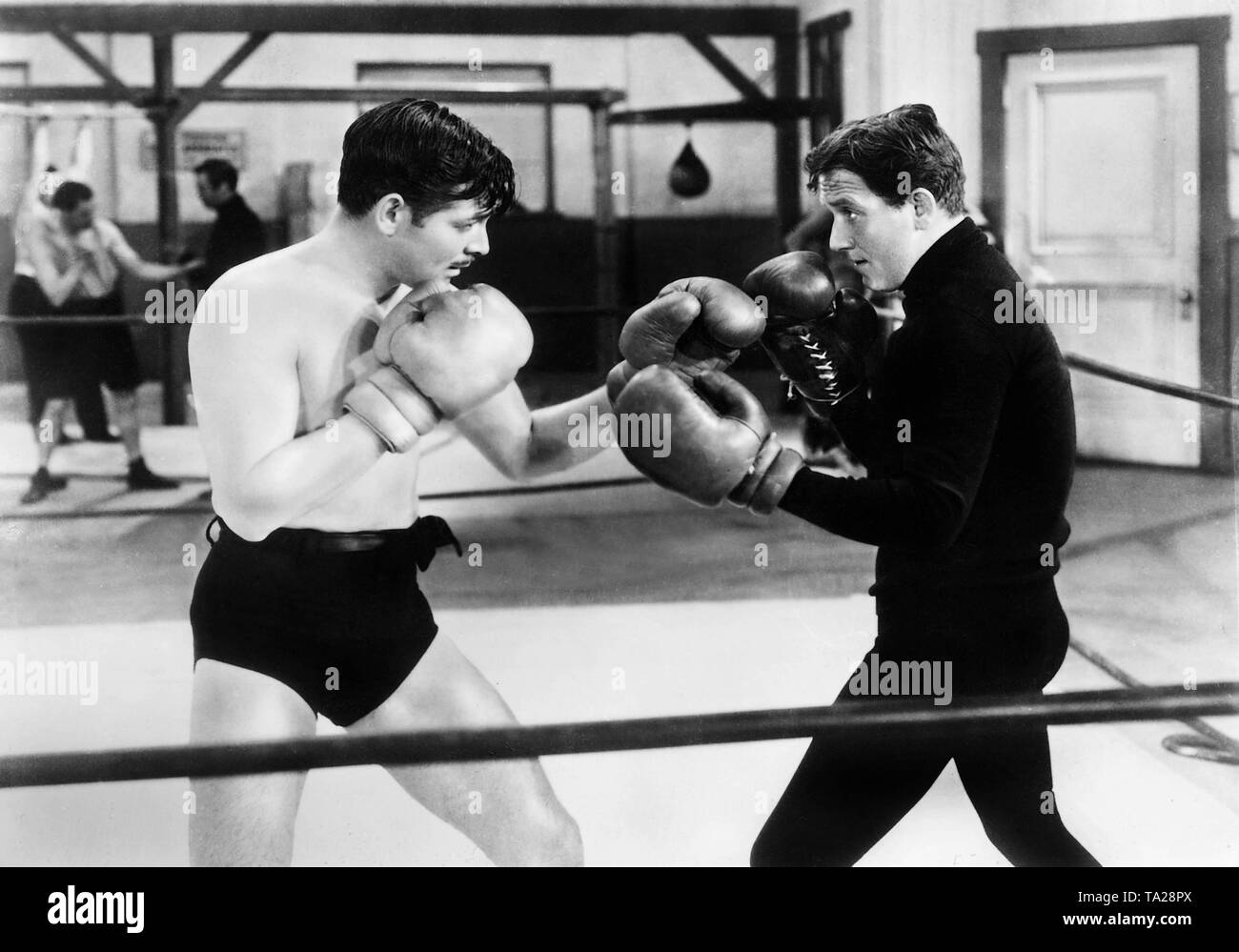 Boxing Ring Black and White Stock Photos & Images - Alamy